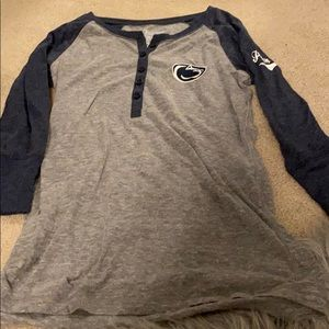 Penn state 3/4 sleeve top